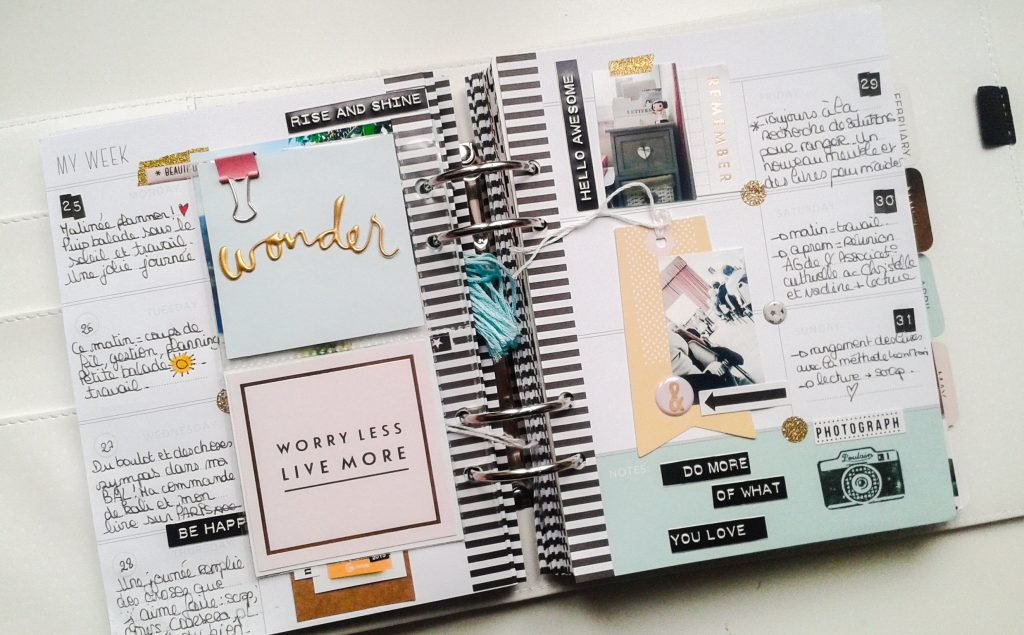 page memory planner