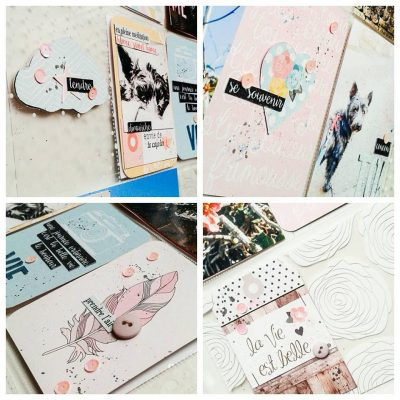 Visuel de mon atelier Project Life Version scrap