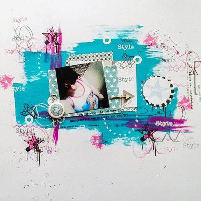 une nouvelle marque de scrap!!!! Graffiti Girl!
