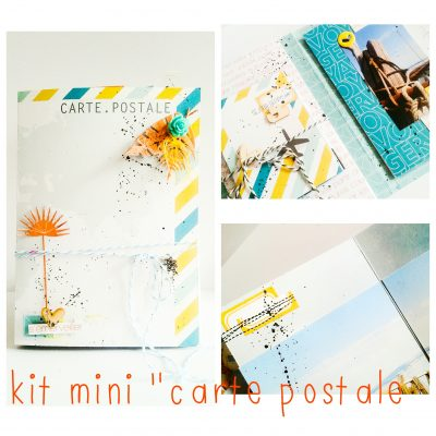 Kit atelier mini album!