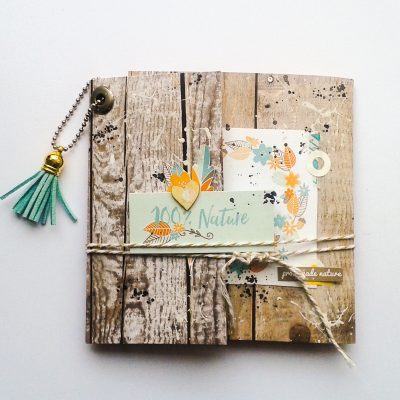 Mini album en Toscane, nouvelle collection Swirlcards !