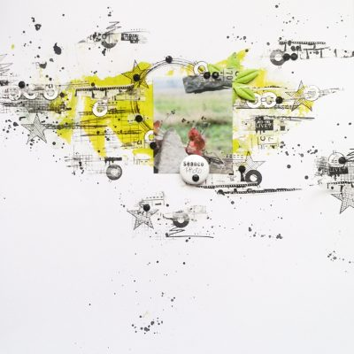 Page et carte pour Graffiti Girl