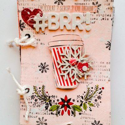 Mini album Brrr : scrappons l'hiver!