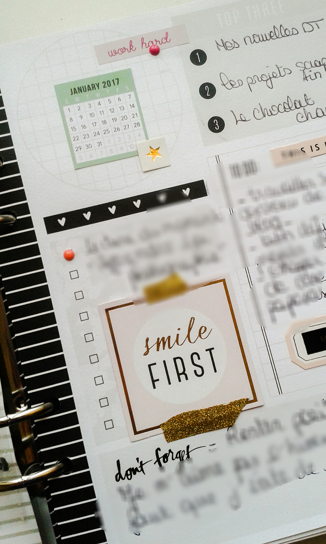 quelques pages de memory planner