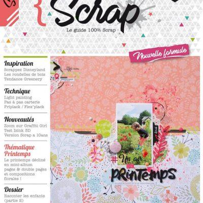 Esprit Scrap, le magazine …….. une nouvelle aventure pour moi!