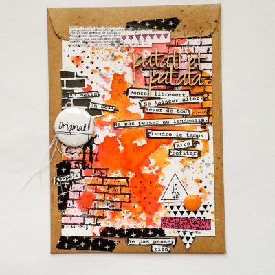 carte façon MM pour graffiti girl