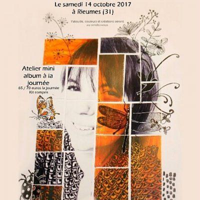 Visuels Ateliers de Rieumes 14/10 + samedi 4 novembre à Lezoux