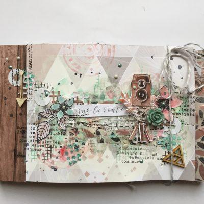 """Mini album """"Sur la route"""" et kits restants"""