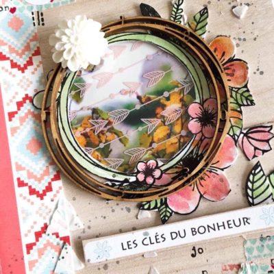 """Mini album """"Les clés du bonheur"""" et kits à la vente"""
