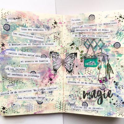 tutoriel Art journal