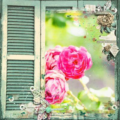 """Page """"La vie en rose"""""""