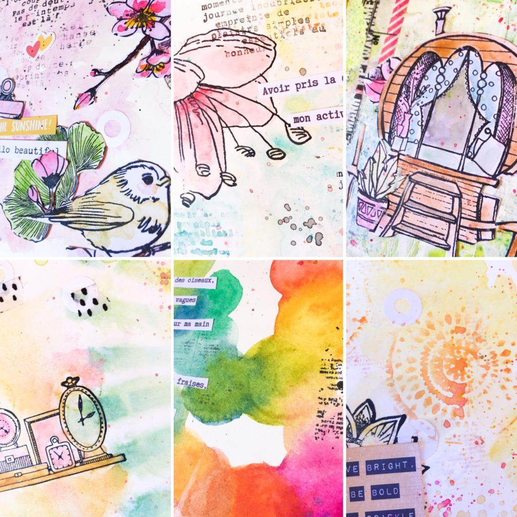 boostez votre créativité avec art journal
