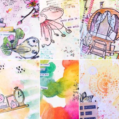 Boostez votre créativité avec l'art journal