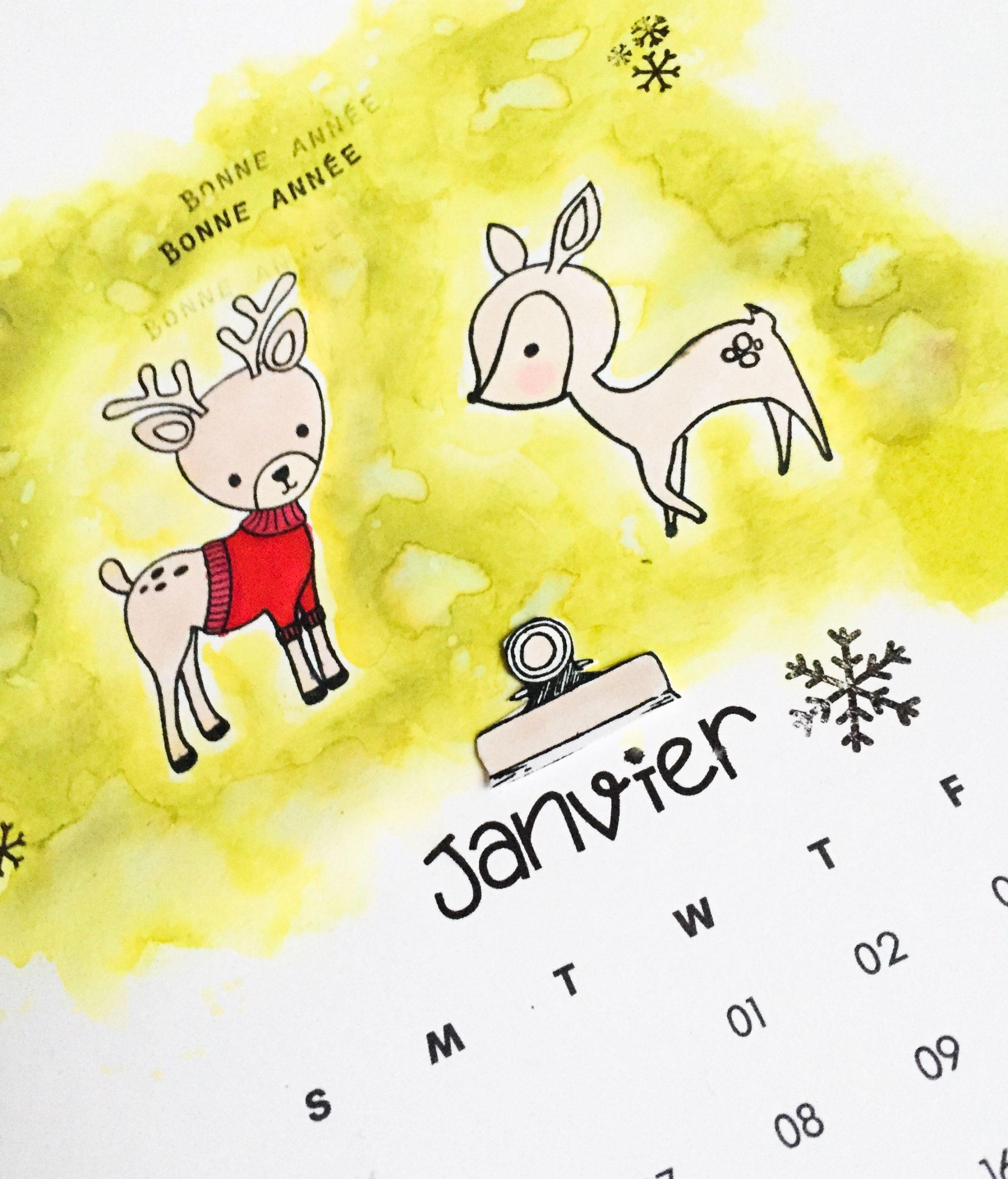Réalisez votre calendrier vous-même