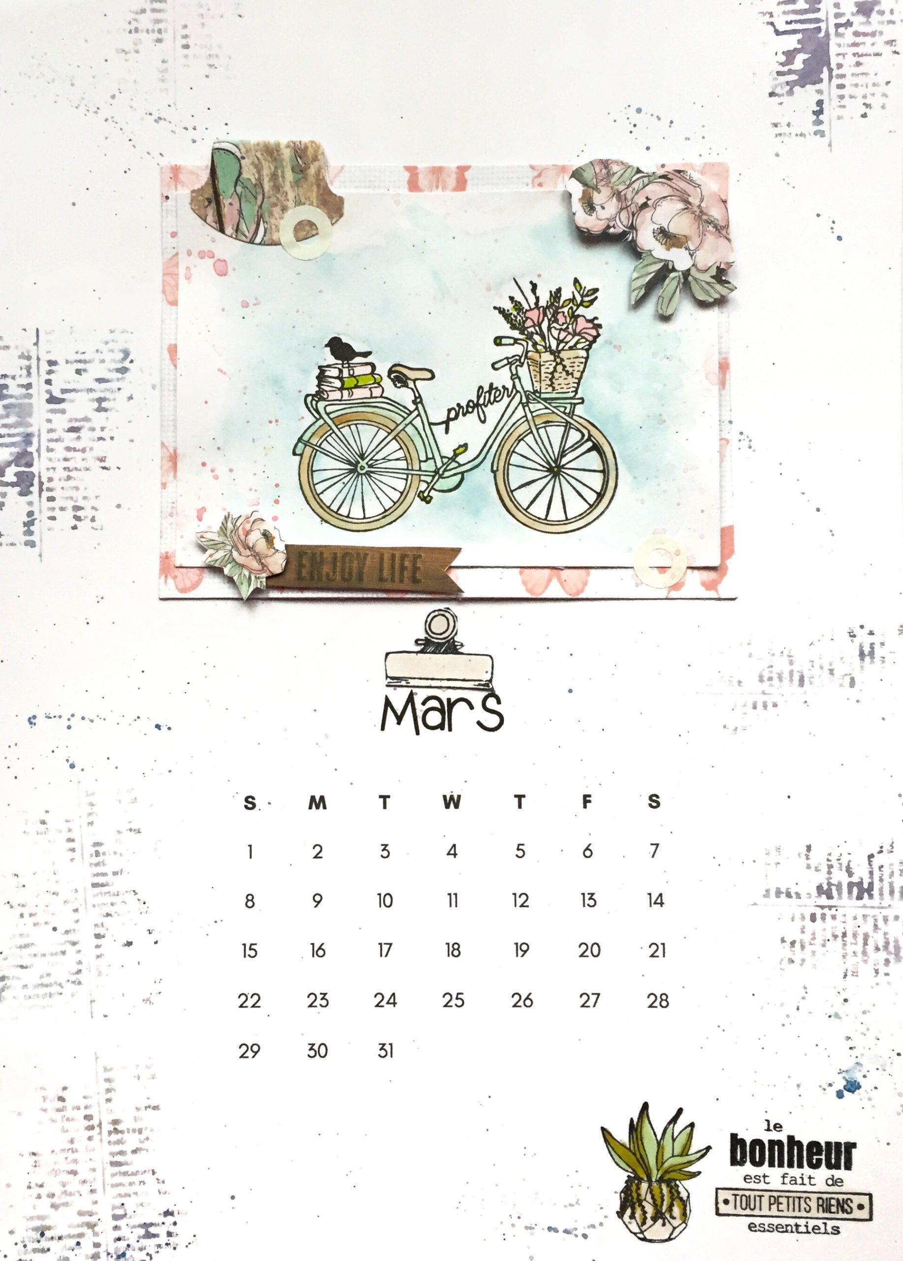 Réalisez votre calendrier vous même