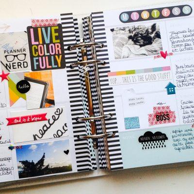planner de février : une nouvelle page
