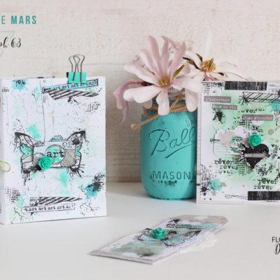 """Capsule """"ma vie de créative"""": un mini et des cartes pour Florilèges Design"""