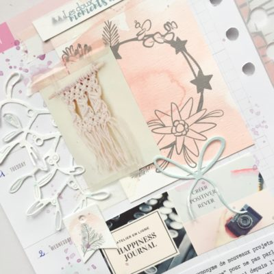 Memory planner 2019, premières pages