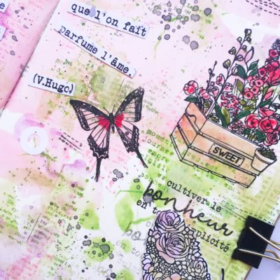 tutoriel art journal offert