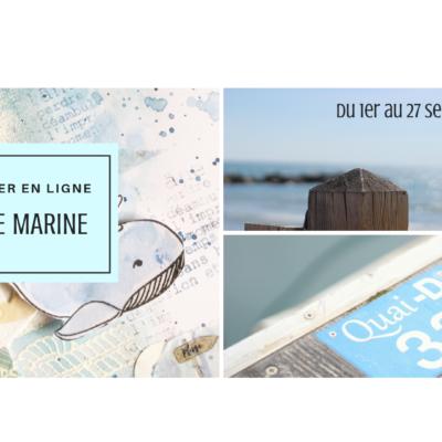 """Atelier en ligne """"Brise Marine"""" , inscription ouverte"""