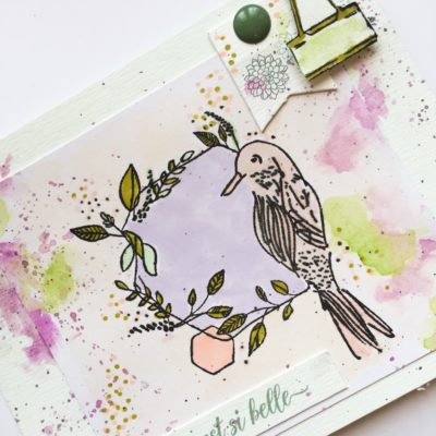 """Carte """"La Nature est si belle"""""""