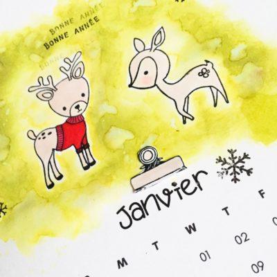 Réalisez un calendrier vous même